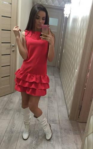 Женское модное платье в 5 расцветках