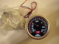 Прибор измерения давления турбины Ket Gauge 52мм чёрный, фото 1