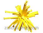 Повітряні кулі латексні Gemar D2, Куля для моделювання ШДМ, куля конструктор 160 серія, 2,5х140 см 100 шт., фото 2