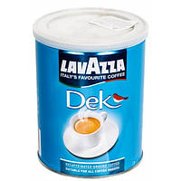 Кофе Lavazza молотый Dek Без кофеина, 250г ж/б