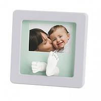Рамка для фото со слепком Baby Art пастель