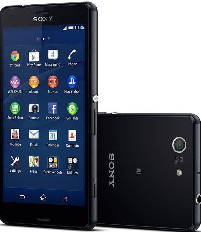 Смартфон Sony Xperia Z3 Compact D5833 (Black)
