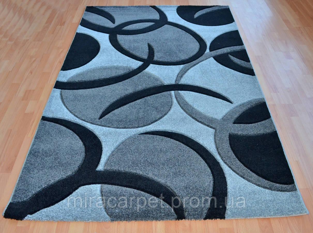 Стриженные серые ковры