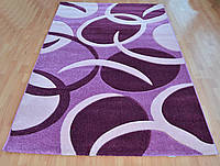 Фиолетовый качественный ковер, фото 1