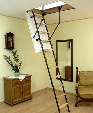 Лестница чердачная Oman STALLUX TERMO 110 х 60 см