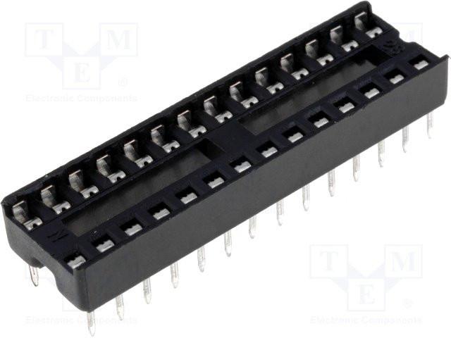 Панелька под микросхему ISCL-32, шаг 1.77, узкая