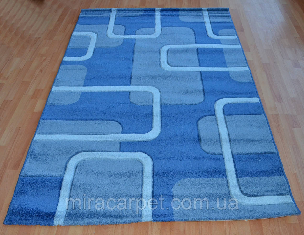 Качественные голубые ковры