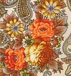 """Платок шерстяной с шелковой бахромой """"Сон бабочки"""", 125х125 см, фото 3"""