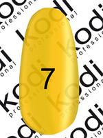 ГЕЛЬ ЛАК ,,CRYSTAL,, KODI (8 МЛ.) ВИТРАЖНЫЙ Ярко желтый
