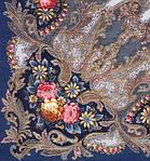 """0978250588. Платок шерстяной с шелковой бахромой """"Сон бабочки"""", 125х125 см, фото 2"""