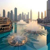 «Вода, огонь и свет» в «исполнении» Дубайского фонтана