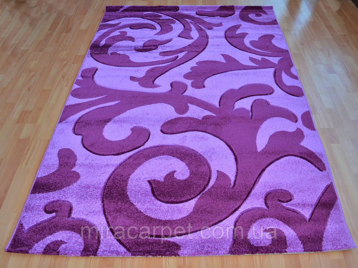 Турецкие ковры лилового цвета