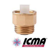 Icma 710 запорный клапан для воздухоотводчика 1/2