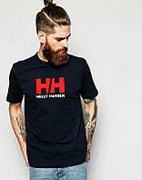 Стильная мужская футболка черная Helly Hansen