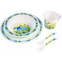 Набор посуды пластиковый столовый