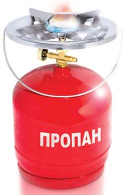 Газовий балон-комплект туристичний Intertool GS-0005 об'ємом 5 літрів