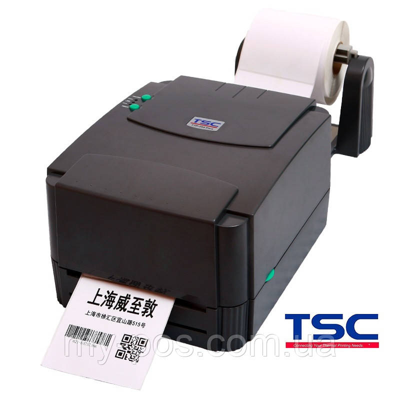 Термотрансферный принтер этикеток TSC TTP-244 (внешний размотчик в комплекте) - ФЛП Лихолобов Е.В. в Харькове
