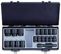 """Набор Force 4193, инструмента из 19 предметов 1/2"""" в кейсе, шестигранные головки 10-32мм"""
