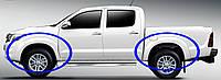 Расширители колесных арок  для Toyota HiLux 2011-2015