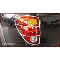 Защита задних фонарей L200 2006-2013