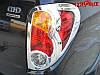 Хром накладки задних фонарей  L200 2006-2013