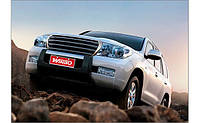 Накладка переднего бампера для Land Cruiser 200 2007-2015