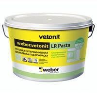 Weber Vetonit LR Pasta готовая шпаклевка, 20 кг