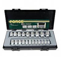 """Набор Force 4212, инструмента из 21 предметов 1/2"""" в кейсе, 8-32 мм"""