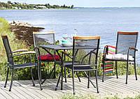 """Летний набор мебели на четверых людей """"Essa"""" из стали и алюминия, фото 1"""
