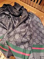 Шарф Gucci серый