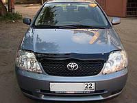 Дефлектор капота ( мухобойка ) Toyota Corolla 2000-2008