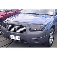 Дефлектор капота ( мухобойка ) Subaru Forester  2006-2007