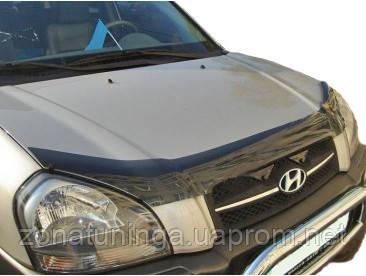 Дефлектор капота ( мухобойка ) Hyundai Tucson 2005-2015