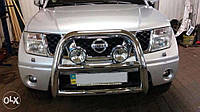 Дуга передняя нержавейка cobra nis1061 для Nissan Pathfinder