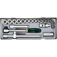 """Набор Force 4214, инструмента из 21 предметов 1/2"""" в кейсе, 8-26 мм шестигранные головки"""