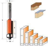 Обгонная фреза с нижним подшипником D = 12,7мм; I = 25,4мм; Sхв. = 12мм.