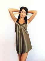 Пеньюар атлас и кружево, разные размеры от 40 до 48. Красивая домашняя одежда из шелка  оптом и в розницу.