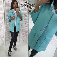Женский модный крадиган с карманами из неопрена (3 цвета)