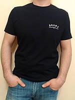 Мужская черная футболка Valimark
