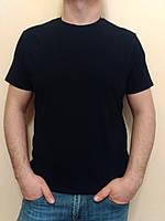Мужская классическая черная футболка Valimark