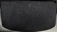 Резинка  трикотажная 70мм.черная (25м) (китай)