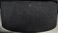 Резинка  трикотажная 80мм.черная (25м) (китай)