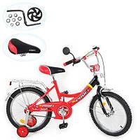 """Детский велосипед Profi Pilot 18"""" red-black"""
