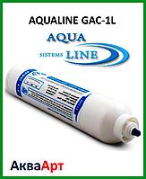 Угольный постфильтр AQUALINE GAC-1L