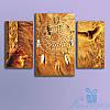 Модульная картина Ловец снов из 3 фрагметов (90х57)