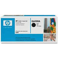 Картридж HP CLJ 1600/2600 Black (Q6000A)
