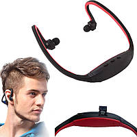 Наушники беспроводные Sport +Bluetooth+TF+FM
