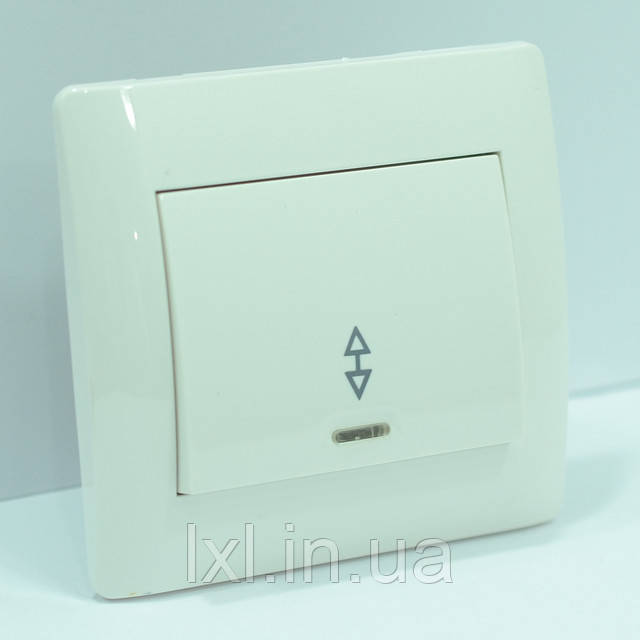 OSCAR Выключатель проходной с подсветкой