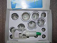 Вакуумные банки 12 шт. с насосом (антицеллюлитные)
