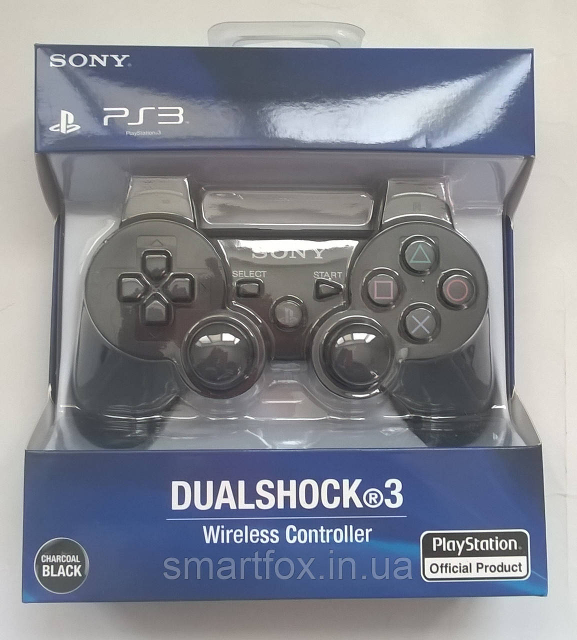 Джойстик для ПС3 (PS3 Sixaxis) Аккумулятор, PlayStation 3, Китай, Черный